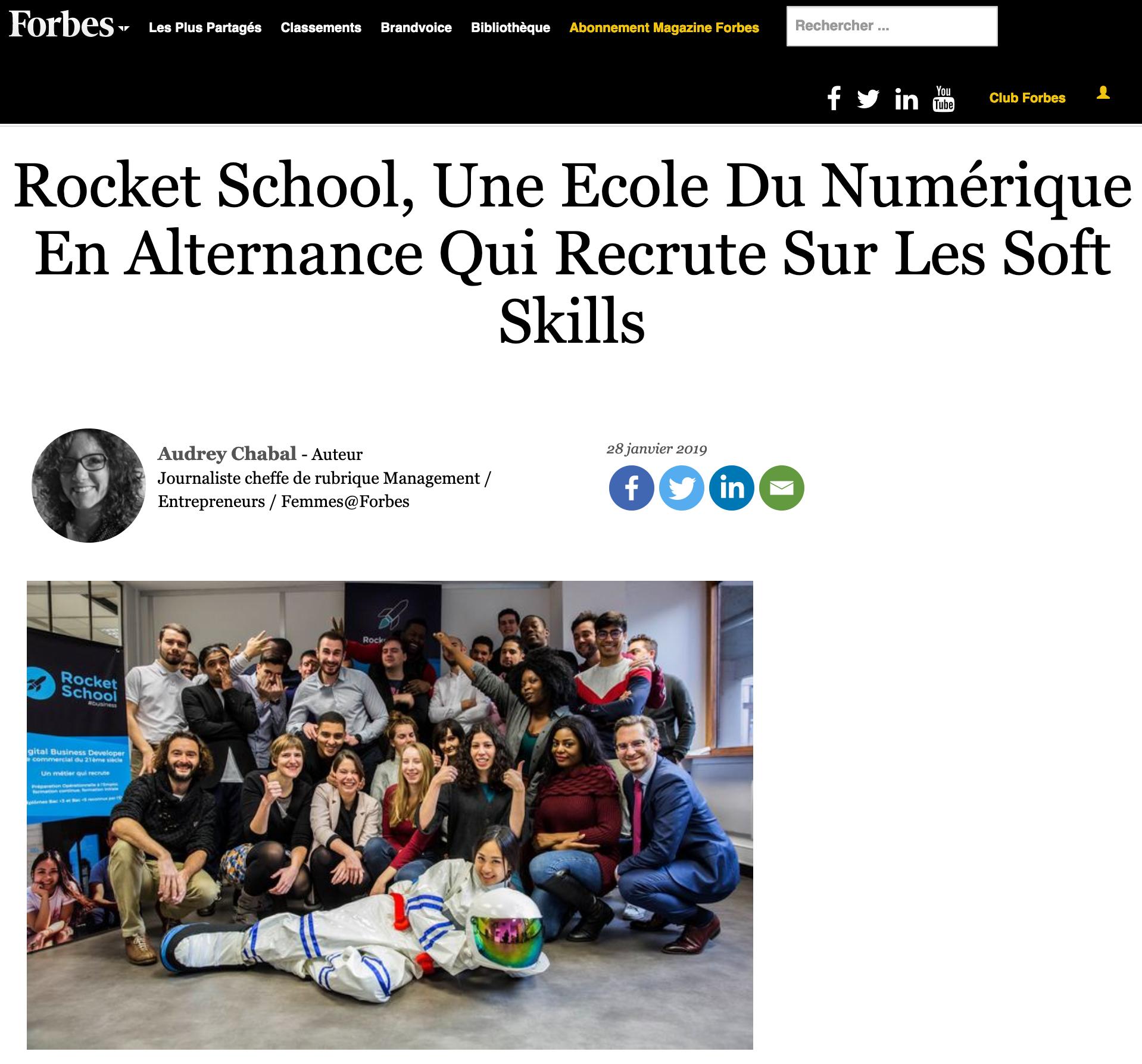 Une Ecole Du Numérique En Alternance Qui Recrute Sur Les Soft Skills